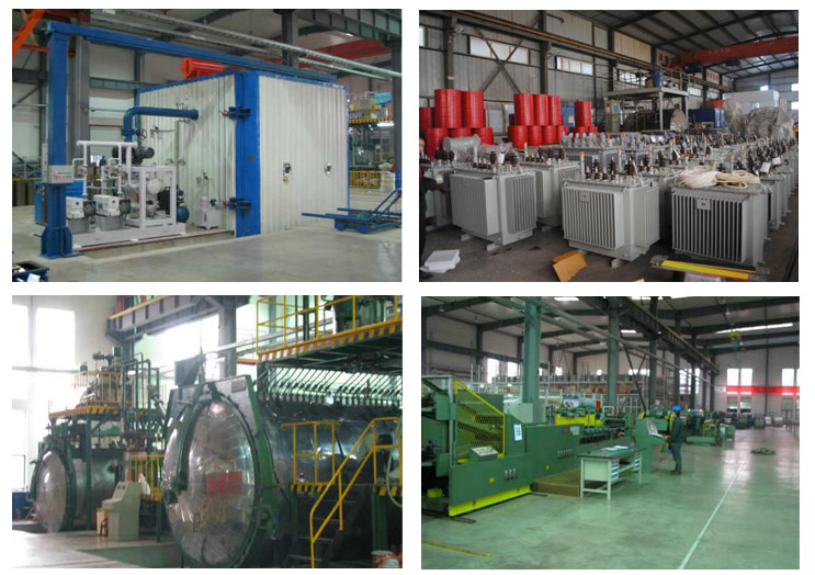 Production process of S9-M Type 10kv Series Sealed Tank Distribution Transformer