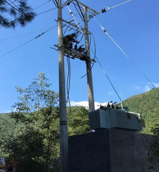 China Zhejiang Province Lishui City 11 KV Line